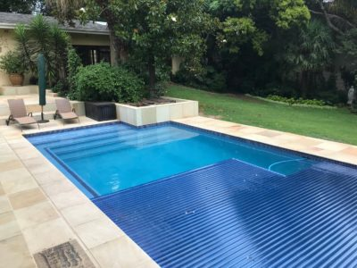 AUTOMATED SLATTED POOL COVER