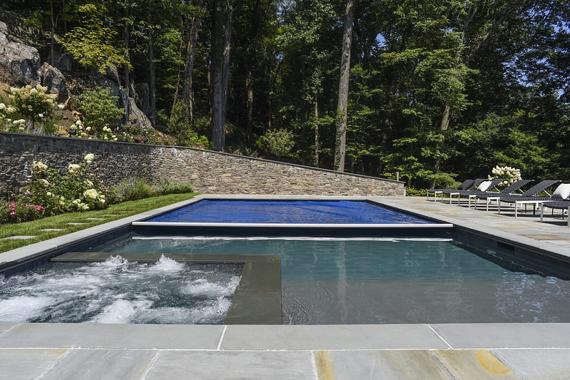 Automated pool cover